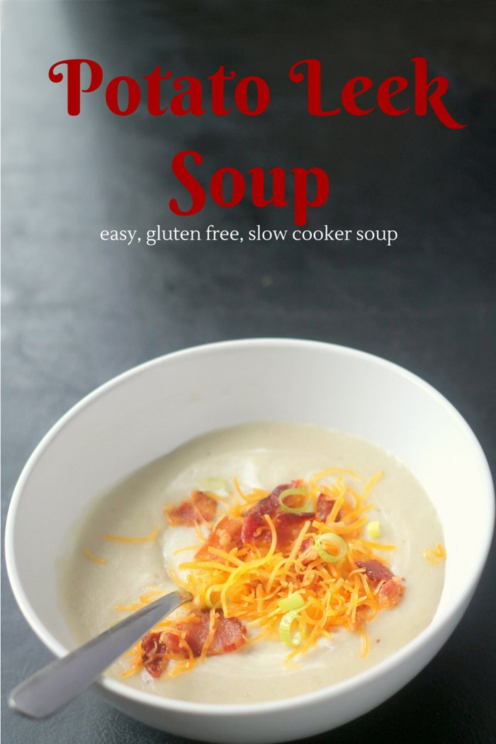 Potato Leek Soup Easier Slow Cooker Recipe