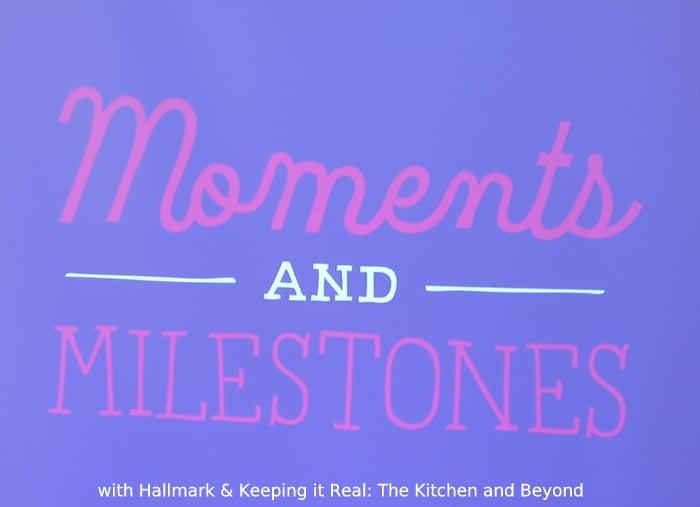 hallmark moments and milestones