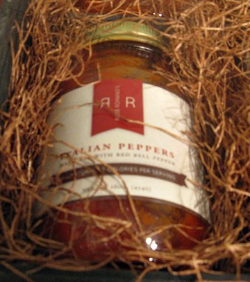 rose romano's gourmet marinara topping with red bell peppers is amazing