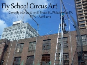 fly school circus