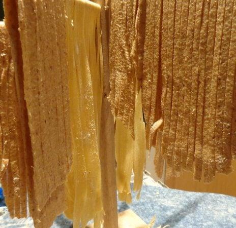 Make your own fresh whole wheat pasta