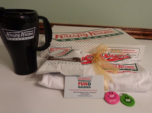 Krispy Kreme ~ specializing in fundraising and nut free donuts