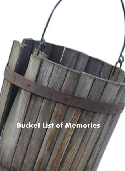 Building my bucket list of memories