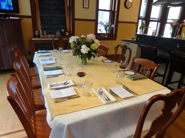 Philly CowShare DIning room table