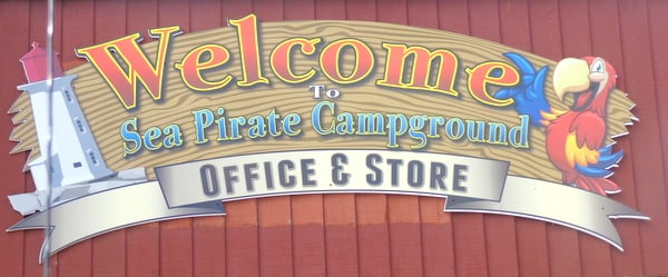 Ahoy Mateys, Sea Pirate Campground is fun for all
