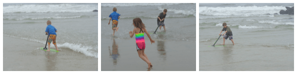 Trying out the D6 #surfskimmer in #belmar NJ