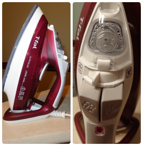 T Fal Ultra Glide Easy Cord Iron glides the wrinkles right out of clothes and is easy to use