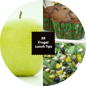 28 tips to make your lunch time fabulously #frugal