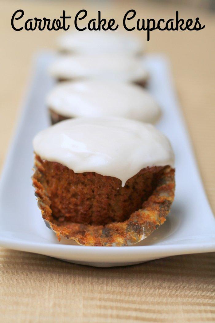 amazing Carrot Cake Cupcakes