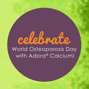 adora calcium world osteoporosis day