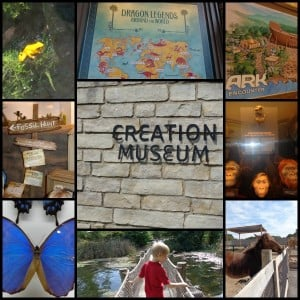 Creation Museum Collage