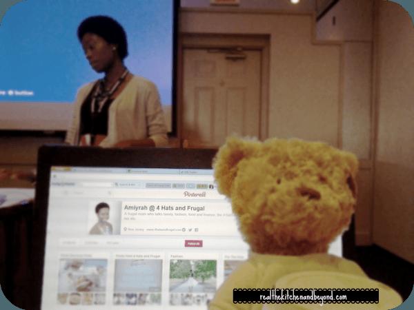 Pinterest with Amiyrah Martin Bloggy Con 2013