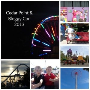 Bloggy Conference ~ where work adn family collide. Cedar Point is the perfect location