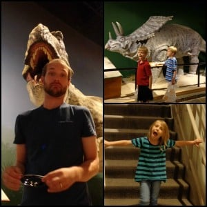 creation museum dinosaur