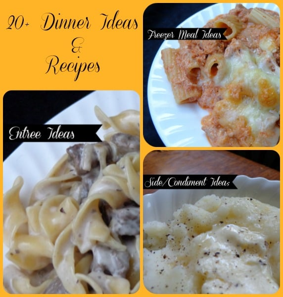 20 dinner ideas and recipes