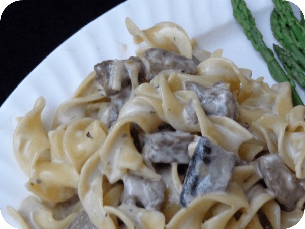 Gorgonzola Beef Stroganoff Recipe #holidaytradition #recipe