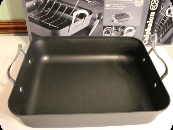 calphalon contemporary roasting pan