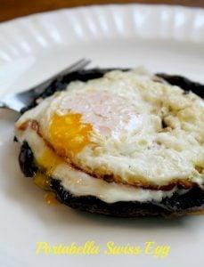Portabella Swiss Eggs