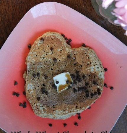 Whole Wheat Chocolate Chip Pancakes Pancakes