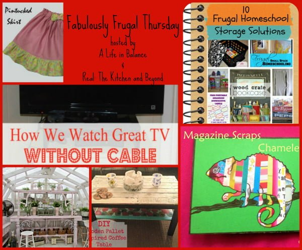 Fabulously Frugal Thursday 59 Featured pictures