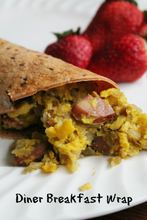 Diner Breakfast Wrap