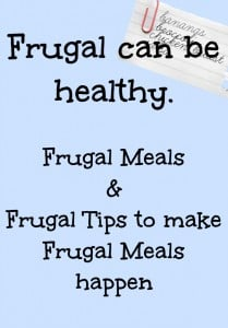 frugal tips and recipes