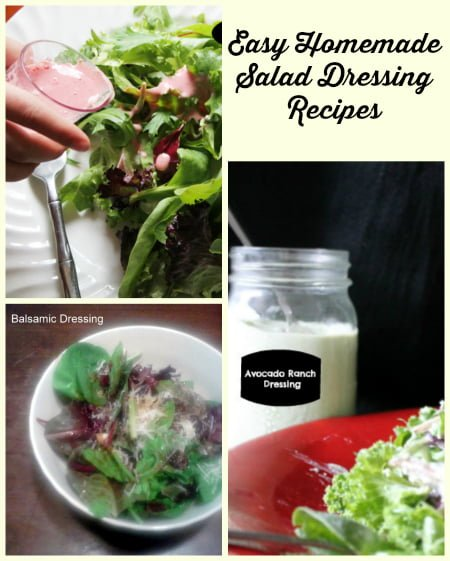 Easy Homemade Salad Dressing Recipes and Pictures