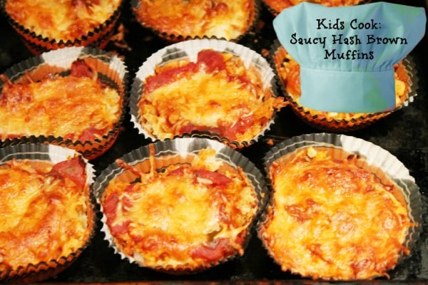 Saucy Hash Brown Muffins