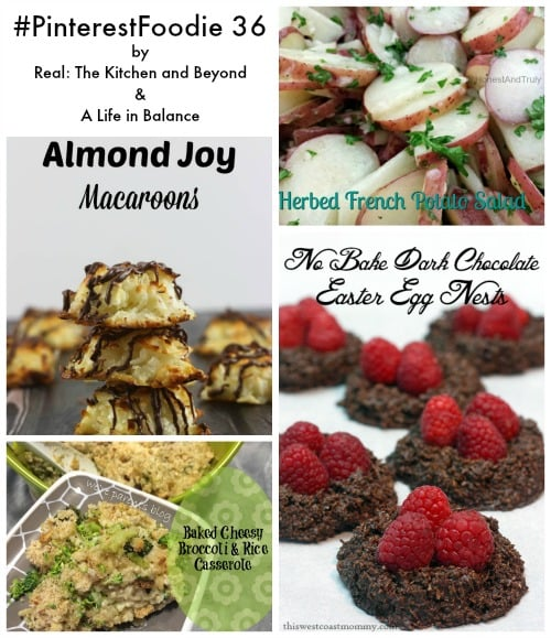 Pinterest Foodie 36 featured recipe pictures