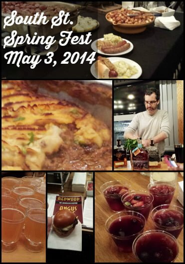 South St. Spring Fest 2014 Food preview collage