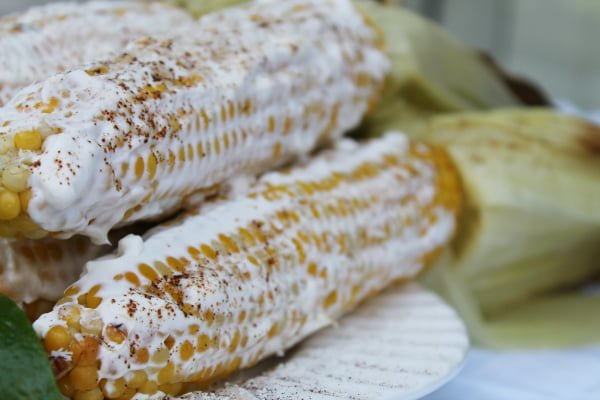 Elotes, Grilled Mexican Corn on the Cob