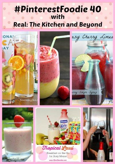 Pinterestfoodie week 40 featured drink pictures