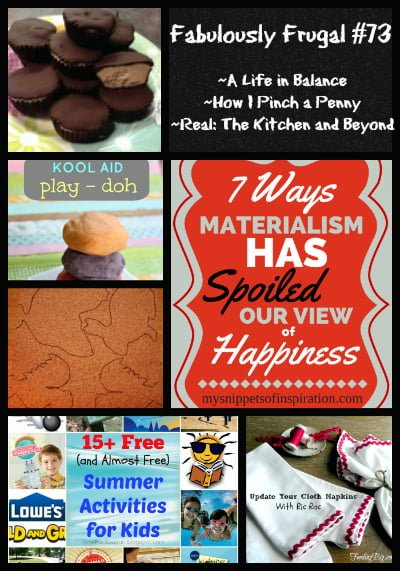 fabulously frugal 73 featured posts