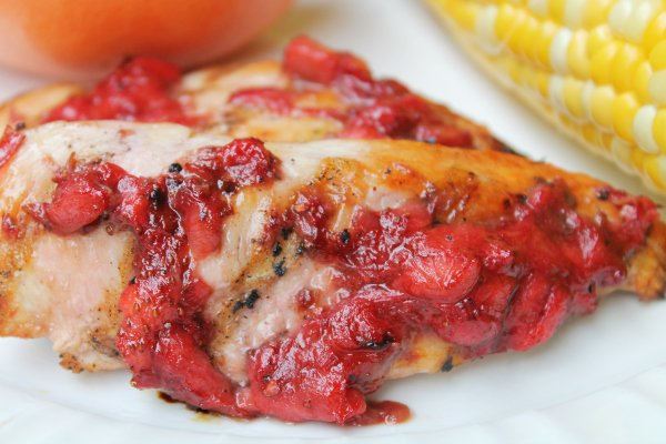 strawberry shallot chicken