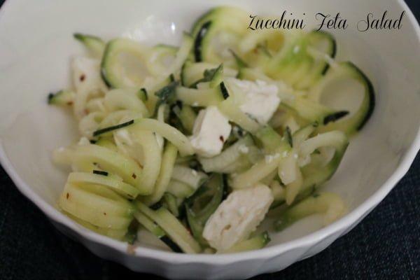 Zucchini Feta Salad