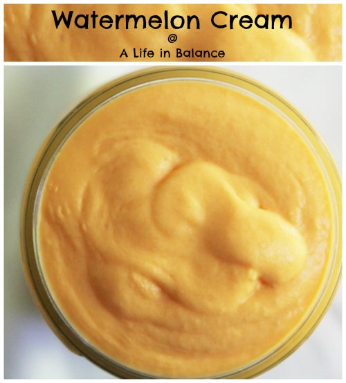 watermelon cream at a life in balance