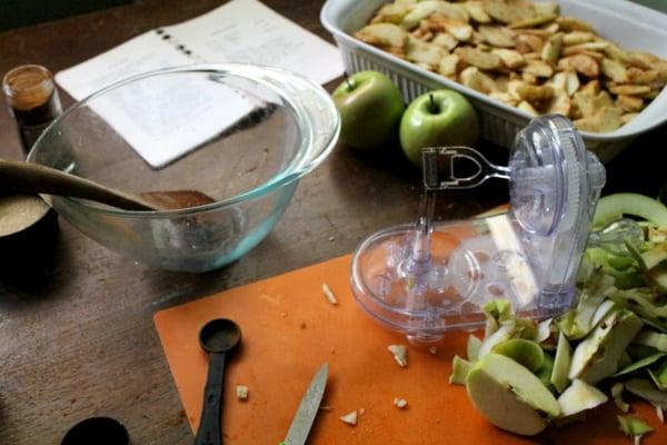 Making Apple Crisp