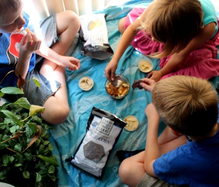 Food should taste good back to school snacks