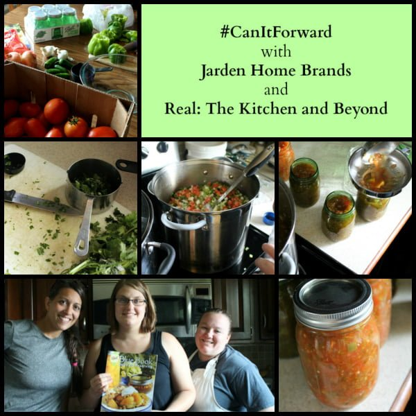 #CanitForward ~ Zesty Salsa canning pictures
