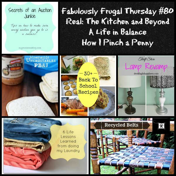 Fabulously Frugal week 80 featured images