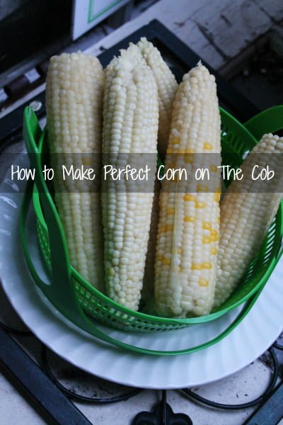 How to make corn on the cob easy