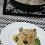 Lemon Garlic Pasta with scallops quick and easy meal