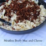 beyond meat beefy homemade macaroni and cheese