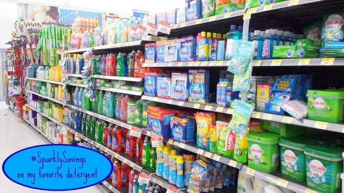 Finish Detergent #SparklySavings