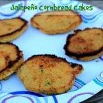 Jalapeno Cornbread Cakes Gluten free cornbread recipe