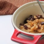 allergy friendly baked oatmeal recipe with applesauce www.realthekitchenandbeyond.com