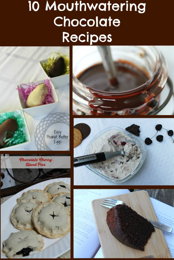 10 chocolate recipes www.realthekitchenandbeyond.com