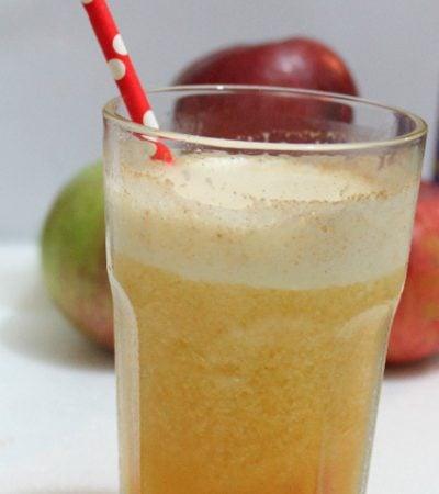 Hard Apple Cider Slushies www.realthekitchenandbeyond.com
