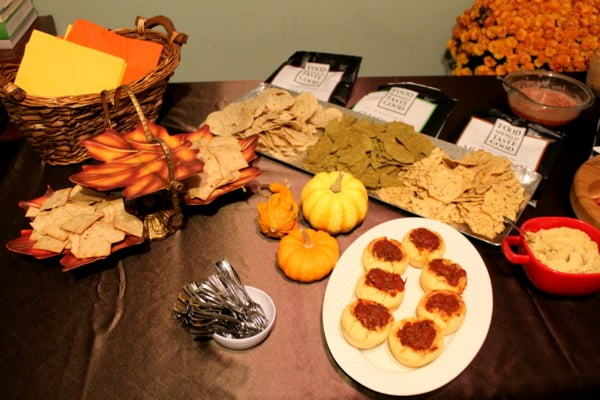 fall party food with #craftingbetterchips and www.realthekitchenandbeyond.com