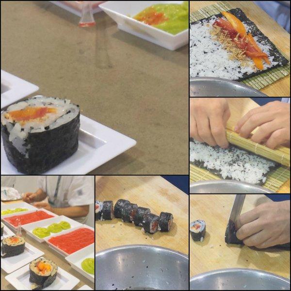 Vegetarian Sushi Mucci Farms